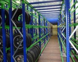 Regalsysteme für Reifen
